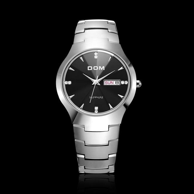 Другие модели часов DOM можете посмотреть и выбрать здесь  Материал  корпуса  Вольфрамовая сталь 7a0b3da885c31